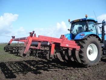 Evers vaste tand/triltand cultivator
